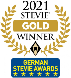 HERO hat 2021 den Stevie Award in Gold gewonnen